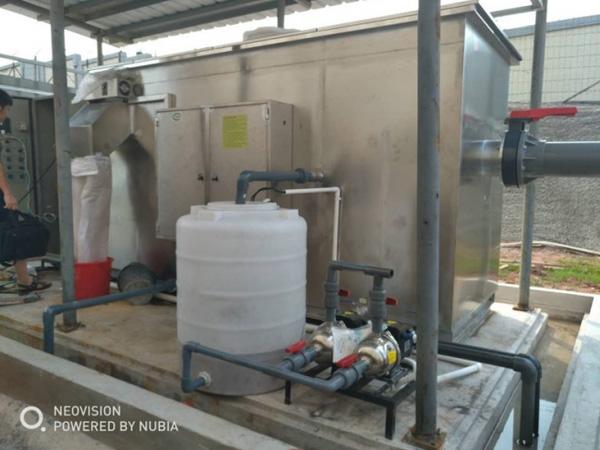 清远衷信光伏材料科技公司油水分离项目